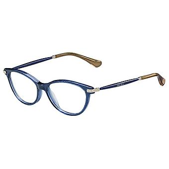 جيمي تشو JC153 QC6 نظارات بريق أزرق