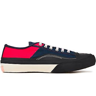 Farbblock Low Top Sneakers