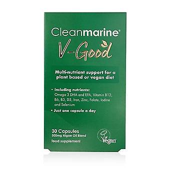 CleanMarine V-Good Capsules 30 (NOV016)