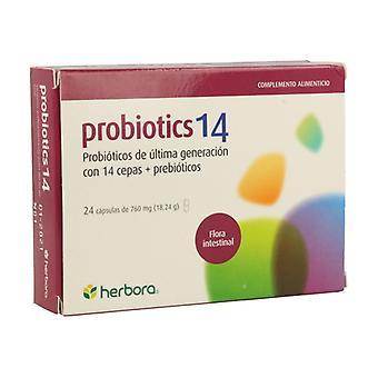 Probiotics14 24 capsules