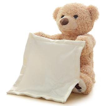 Peek A Boo Teddy Bear Speaking Moving Stuffed Toys