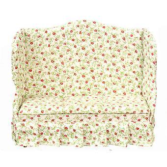 בית בובות דובדבן צ'ינץ ספה ספה מיניאטורי סלון רהיטים