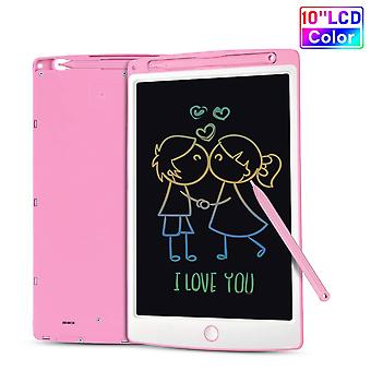 Lcd writing tablet, 10 inch colorful screen digital ewriter electronic graphics tablet portable writ