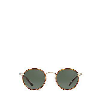 Garrett Leight WILSON SUN butterscotch-tort unisex sunglasses
