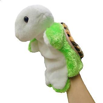 Animal Hand Puppet Plys Legetøj, Foregive telling Story Prop 25cm #27