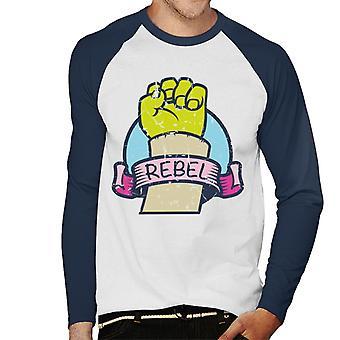 Shrek Hand Rebel Mænd's Baseball langærmet T-shirt