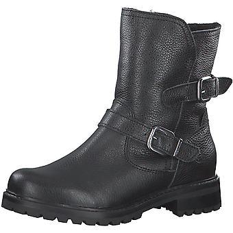 Booties Low Heels Schwarz