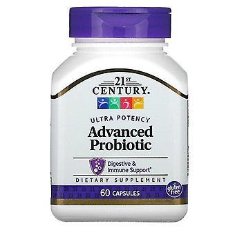 21st Century, Advanced Probiotic, Ultra Potency, 60 Capsules