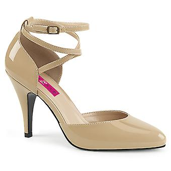 Pleaser Mujeres's Zapatos Pink Cream Pat