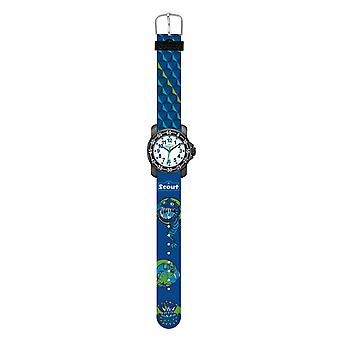 Scout Kids Watch Learning Clock Action Boys - Flying Monsters Boys 280376015