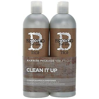 Bed Head Men's Clean Up Pack Shampoo + Conditioner