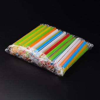 Wide Disposable Drinking Straws