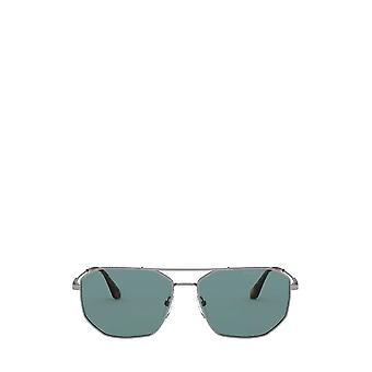 Prada PR 64XS gunmetal óculos de sol masculinos