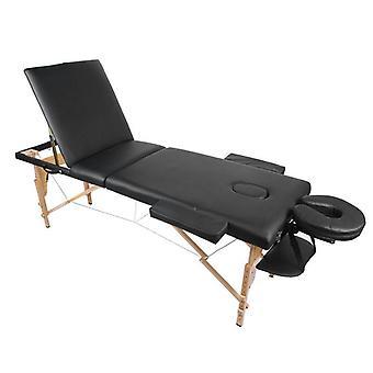 Składane łóżko kosmetyczne, przenośny stół do masażu, regulowana wysokość, spa dla salonu,