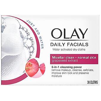Olay Cleanse Daily Facials Normal 30 Units