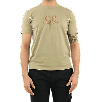 C.P.Company T-Shirts - Short Sleeve Beige 10CMTS125000444O329 Top