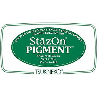 Stazon Pigment Mustetyyny Shamrock Vihreä