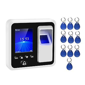 Time Attendance And Rfid Reader Fingerprint Biometric Attendance System