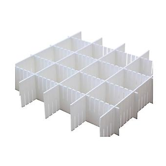 Låda avdelare justerbar låda garderob grid 18x5 tum