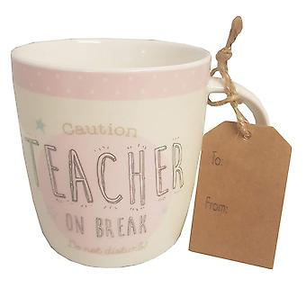 Novelty Teacher Mug - Boutique Style Teacher Gift