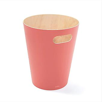 DZK Trash Can, Coral,