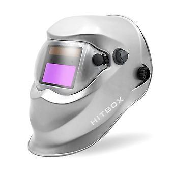 Solar Energy Automatic Changeable Light Darkening Electric Welding Helmet