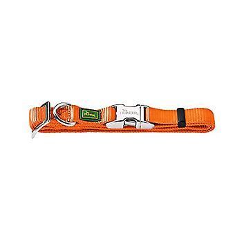 HUNTER Collar Vario-Basic Alu-Strong Gr. L/2545-65 cm, Nylon Orange