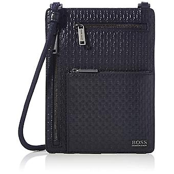 BOSS Crosstown P_Neck s. Pocket on the Neck. Mand, Navy410, One Size