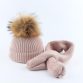 Winter Hat And Scarf Suit