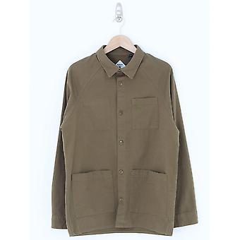 Barbour Woods Overshirt - Uniform Groen