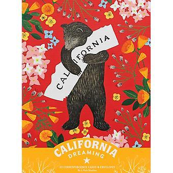 California Dreaming 20 Enveloppes de voitures de correspondance par Tim A Shaw