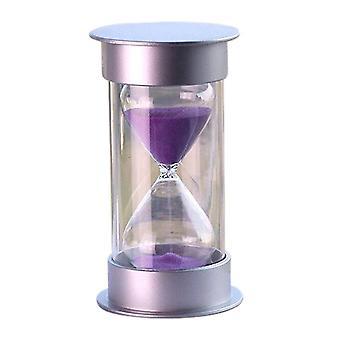 Muovi kristalli tiimalasi 10-30 minuuttia Hiekkakello sisustus tiimalasi ajastin 30min