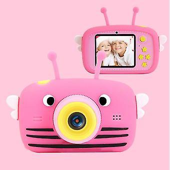 Bee red portable full-hd 1080p digital mini camera for kids child az961
