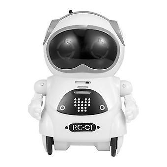 Çocuk Cep Robotu Konuşan İnteraktif Diyalog Ses Kaydı Şarkı Oyuncak