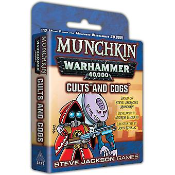 Munchkin Warhammer 40000: Cults and Cogs Expansion Card Game