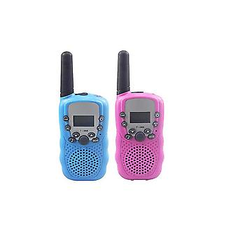 2 Pcs,walkie Talkies For 3-12 Year Old Boys Girls, 3 Miles Range For Outside, Camping, Hiking