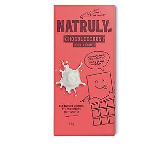 Natruly Chocolicious Con Leche 85 Gr Unisex