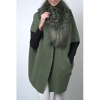 Sam-rone Naisten vihreä takki
