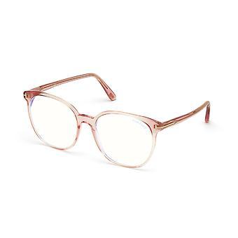Tom Ford TF5671-B 072 Błyszczące różowe okulary