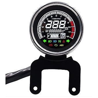 Motorcycle multi-purpose Speedometer, LCD display tachometer