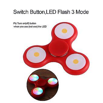 LED Licht Blitz Hand Spinner Spielzeug Finger Tri-Spinner Spielzeug Geschenk für Kinder / Erwachsene