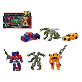 Transformers Super Change  (35 x 22,5 cm)