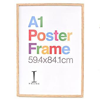 iFrame Houten Afwerking Poster Frame A1