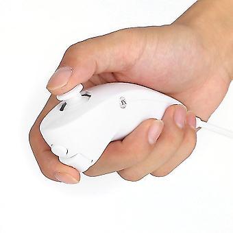 Hvid Nunchuck Game Controller fjernbetjening til Nintendo til Wii spillekonsol