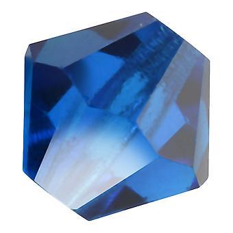 Preciosa التشيكية كريستال، بيكون حبة 6mm، 24 قطعة، كابري الأزرق