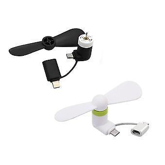 Micro USB/Lightning blower(fekete)