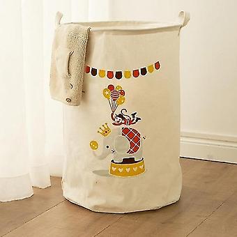 Baumwolle Wäsche Korb Stand Spielzeug Lagerung Waschen schmutzige Kleidung großen Korb