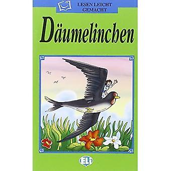 Lesen Leicht Gemacht - Die Grune Reihe: Daumelinchen - Bok & CD