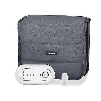 Snoring sleep apnea aids moyeah 2020 est cpap cleaner sanitizer ozone sterilizer disinfector with bag heated hose