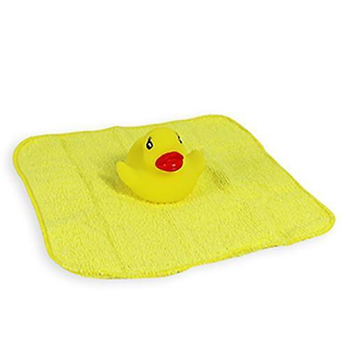 First Steps Bathtime Fun Bath Duck toy and Baby Washcloth 3m+ Gift